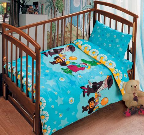 Постельное белье в кроватку Веселый праздник