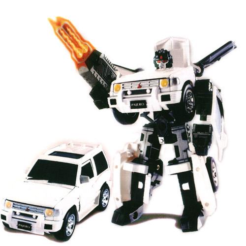 Робот-трансформер Сноубот - MITSUBISHI PAJERO (1:32)   Roadbot