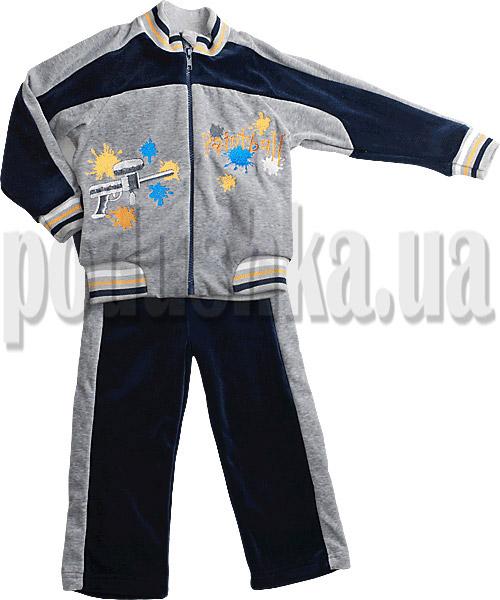 Спортивный костюм из велюра Ляля 2ТК102В