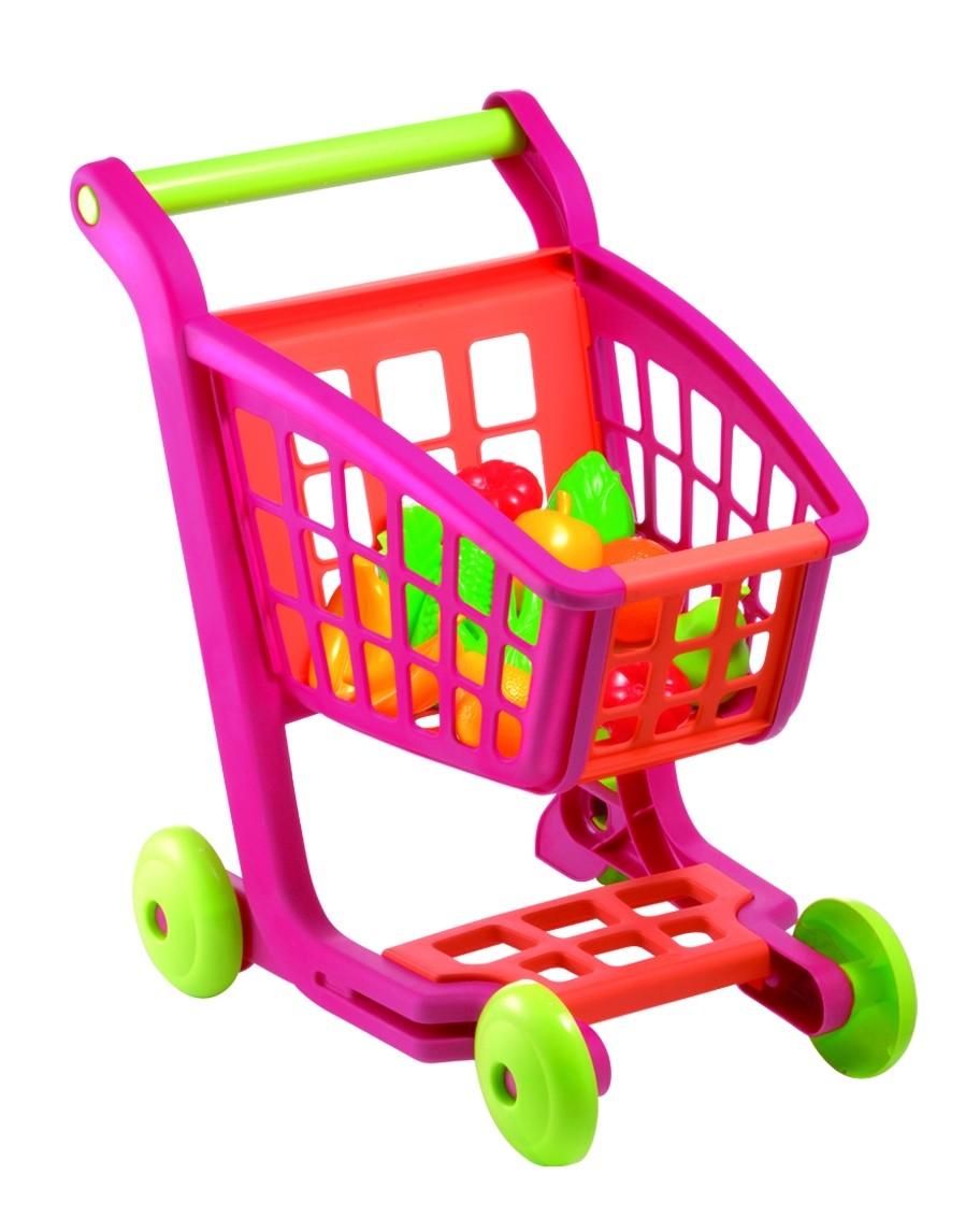 Тележка для супермаркета Bubble Shop