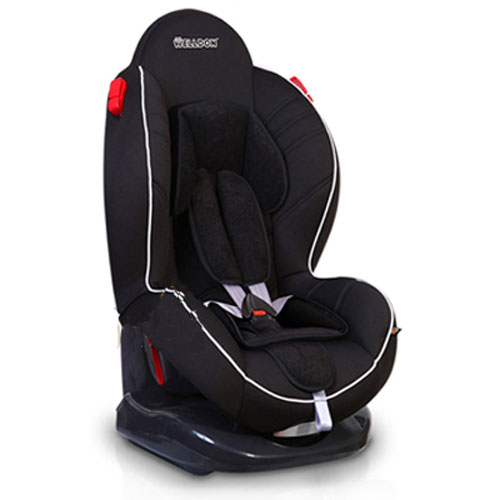 Автокресло Baby Shield Welldon CuddleMe Black