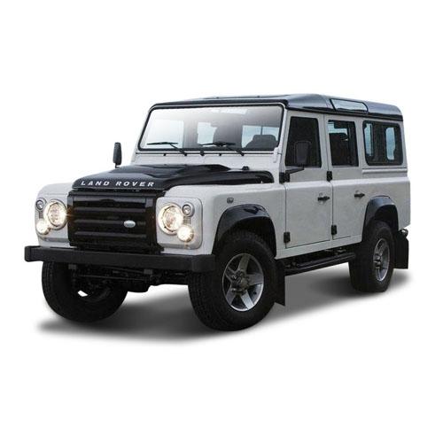 Автомодель - Land Rover Defender 110 (ассорти белый, синий, 1:32)
