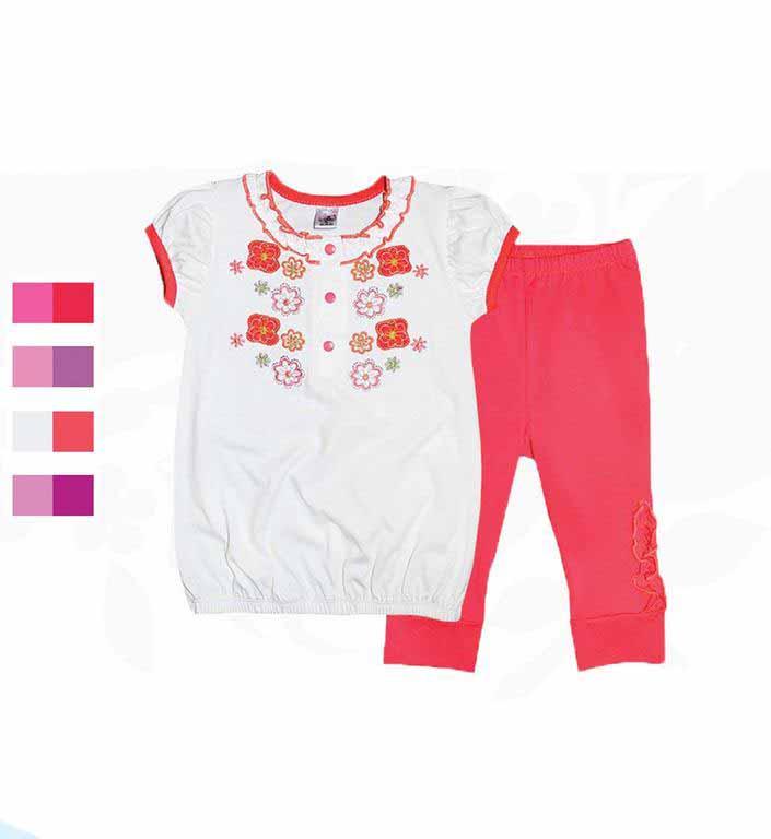 Комплект для девочек Фламинго 556-114