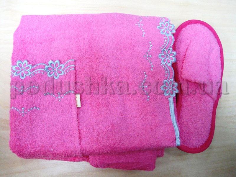 Набор для сауны женский Nusa NS-270 розовый