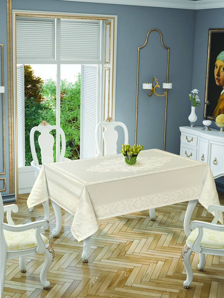 Скатерть Tropik home Damask Cream 5699-2