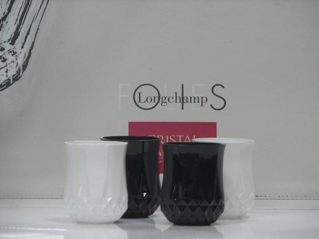 Набор CD'A LONGCHAMP FOLIES black, white/40X4 рюмок