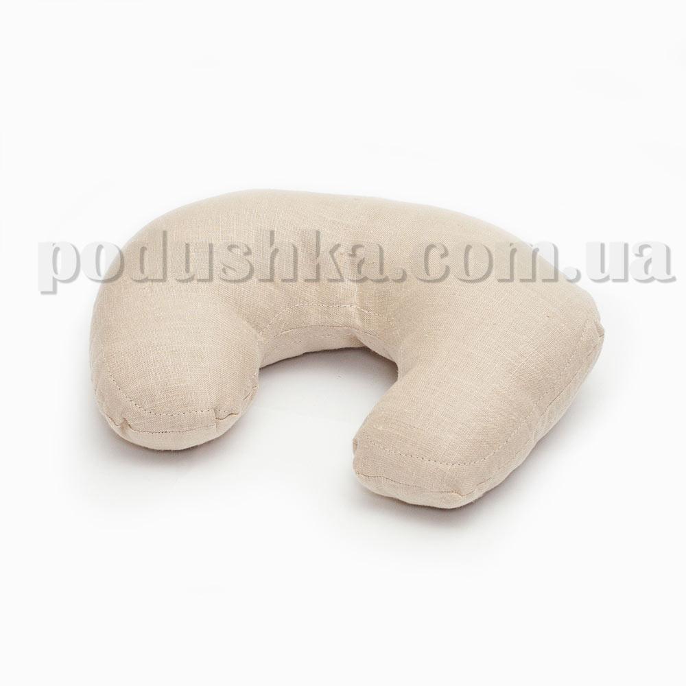 Дорожная подушка льняная СПХ-3
