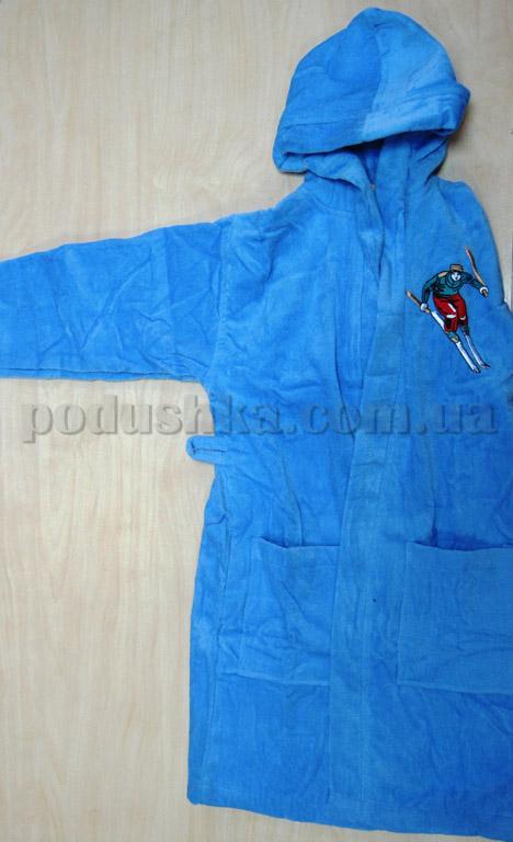 Халат детский Nusa голубой
