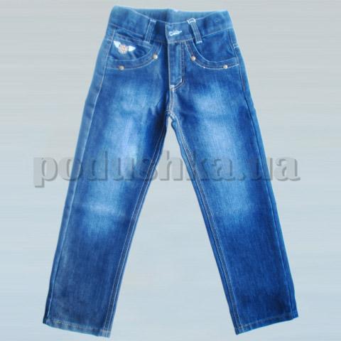 Штаны для мальчиков Бемби ШР188 джинс