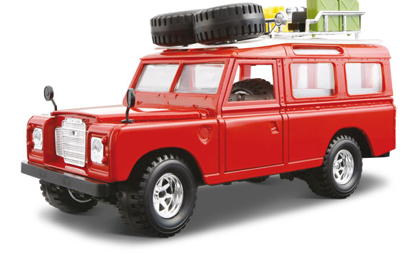 Авто-конструктор - Land Rover (1971), красный