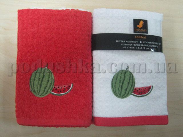 Набор махровых кухонных полотенец Mariposa Арбуз