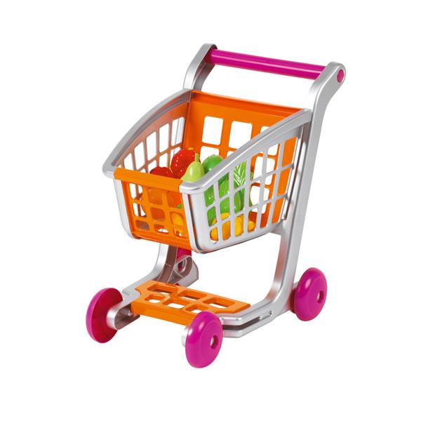 Тележка для супермаркета с аксессуарами