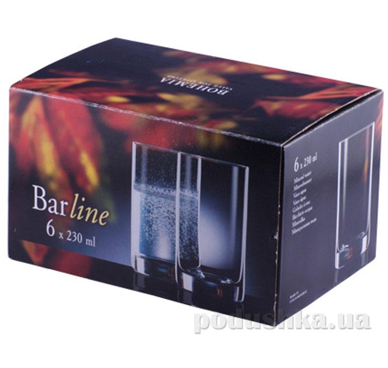 Набор стаканов Bohemia Барлайн 230 мл 6 шт.   Bohemia