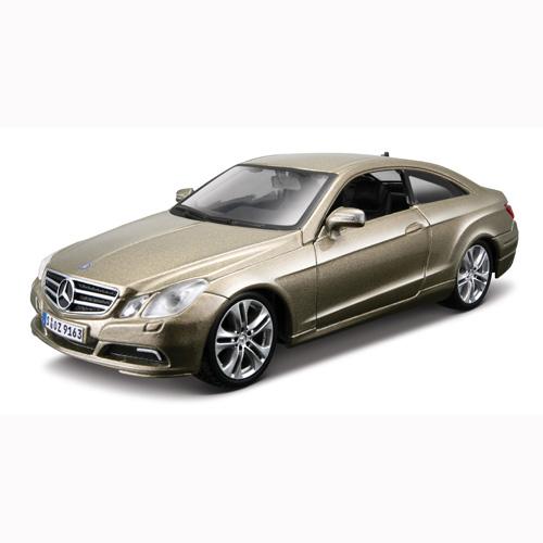Автомодель - Mercedes-Benz E-Cclass Coupe (ассорти золотой металлик, серебристый металлик, 1:32)