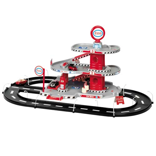 Игровой набор - АВТОГАРАЖ (3 уровня, 2 машинки)