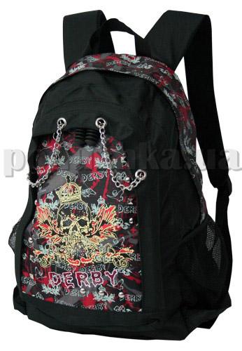 Рюкзак Derby металл-рок 0170001 черный