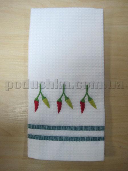 Полотенце кухонное вафельное Remzi Перец чили