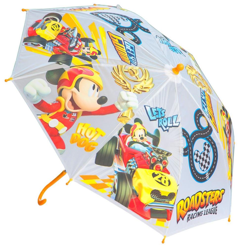 Зонт механический Микки и веселые гонки Disney (Arditex) WD11605 yellow
