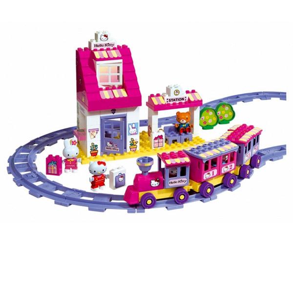 Игровой набор Железная дорога Hello Kitty
