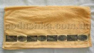 Полотенце махровое Belle-Textile LX299 желтое
