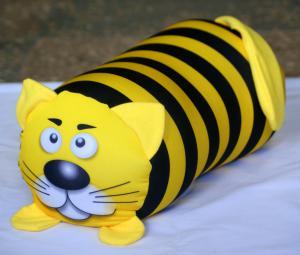 Антистрессовая игрушка-валик Кот полосатый