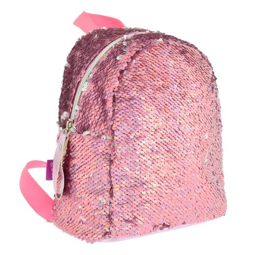 Рюкзак молодежный с пайетками Yes GS-02 Pink 557651 розовый