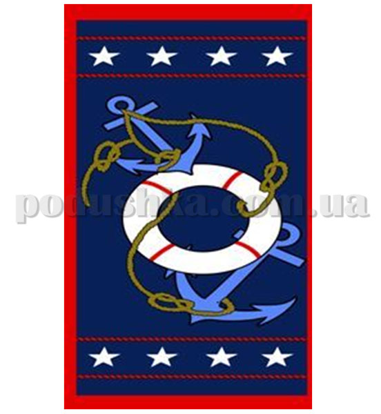 Полотенце пляжное Marine Якорь-4