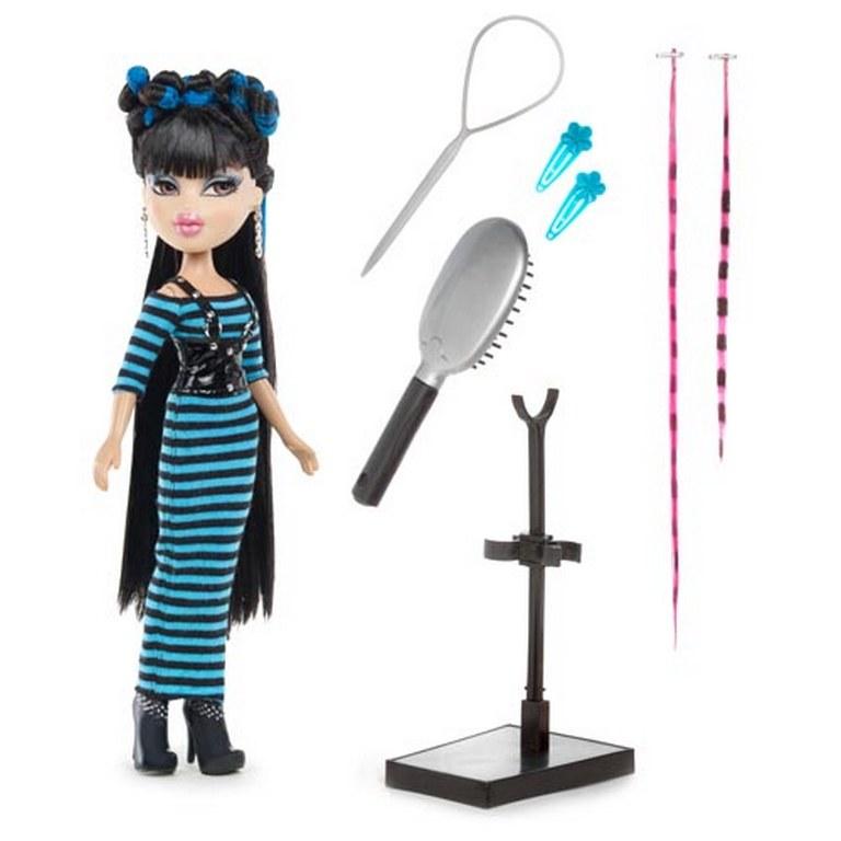 Акционный набор Кукла Bratz 501831В серии «Талантливый парикмахер» Джейд и набор одежды