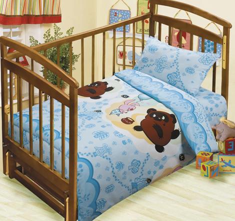 Постельное белье в кроватку Чудесная прогулка