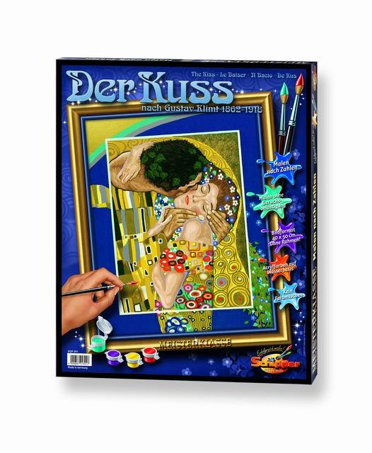 Художественный творческий набор Поцелуй Густав Климт