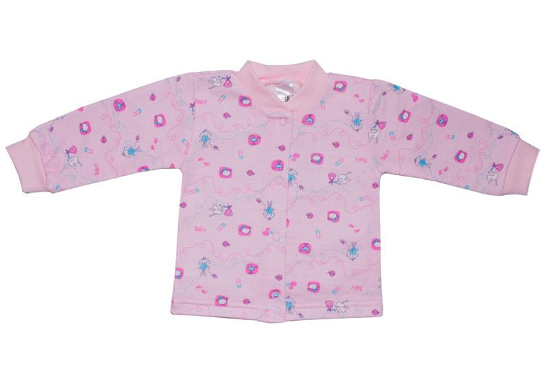 Кофточка детская легкая Фламинго 402 кулир