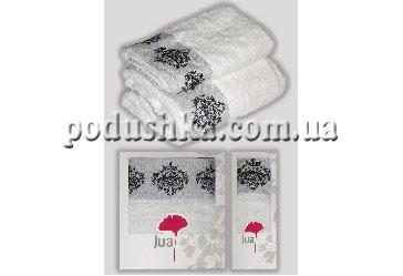 Набор полотенец AVANGARD WHITE-BLACK (2шт), Jua