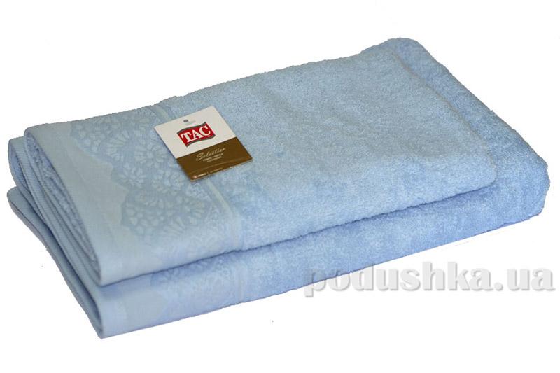Набор махровых полотенец TAC Safran голубых