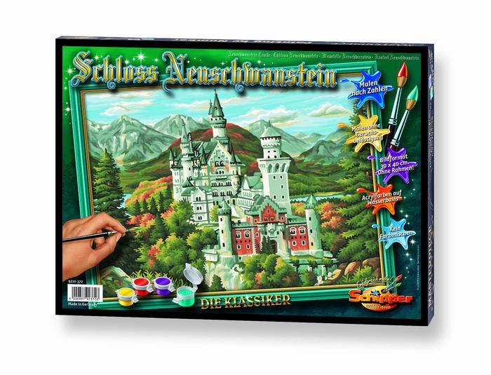 Художественный творческий набор Замок Нойшванштайн