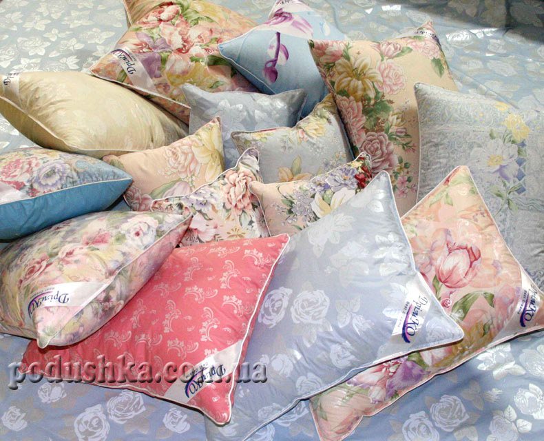 Подушка цветная Лаванда, Дримко
