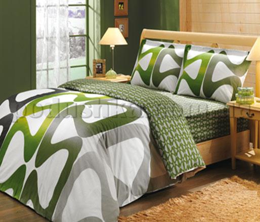 Постельное белье Hobby Calypso зеленый
