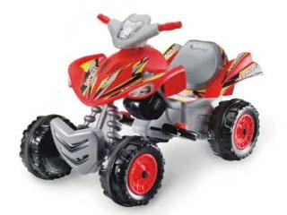 Квадрацикл красный,6V