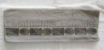Полотенце махровое Belle-Textile LX299 серое