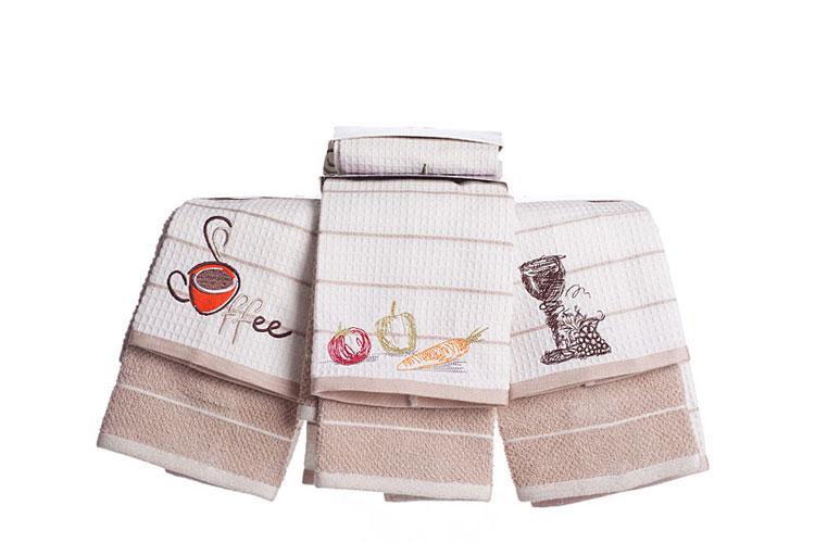 Набор полотенец для кухни COFFE