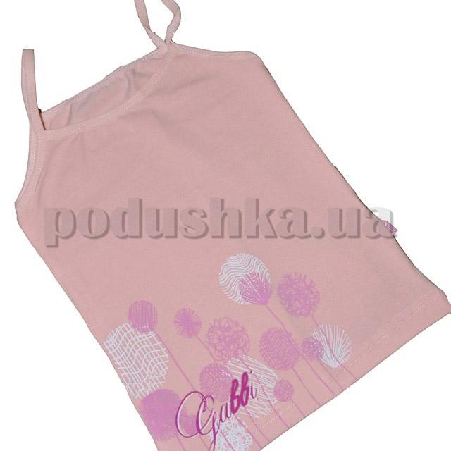Майка для девочек Габби 00124 с принтом Одуванчики