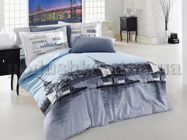 Постельное белье Romeo soft Istanbul голубой