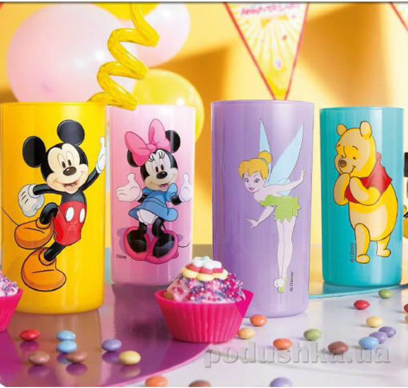 Стакан детский Luminarc Disney Minnie Colors высокий H6106   Luminarc