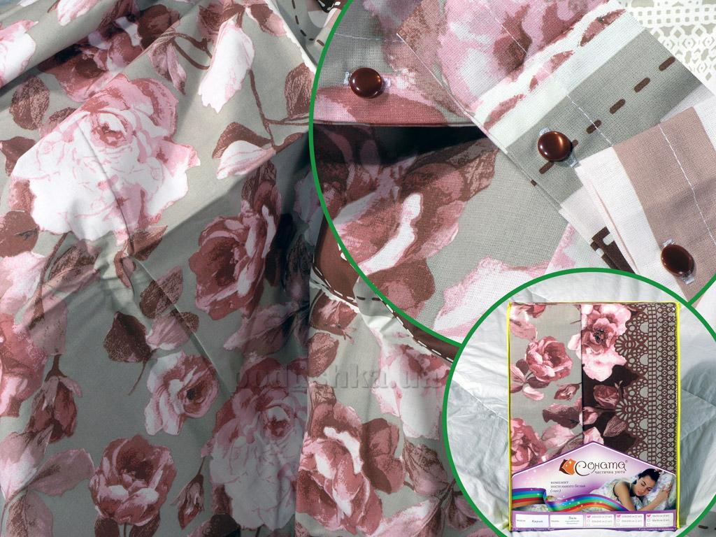 Постельное белье СОНАТА Карла бязь Полуторный комплект  Соната