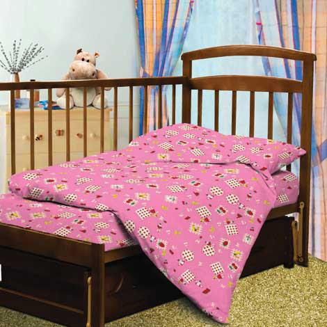 Постельное белье в кроватку Ягодный фреш