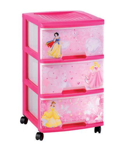 Комод с выдвижными ящиками Curver 06772-Р01 Принцесса