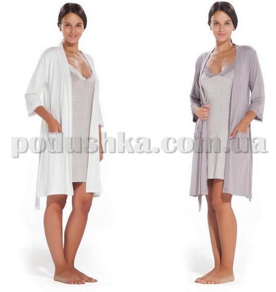 Ночная рубашка с халатом Hays 2112