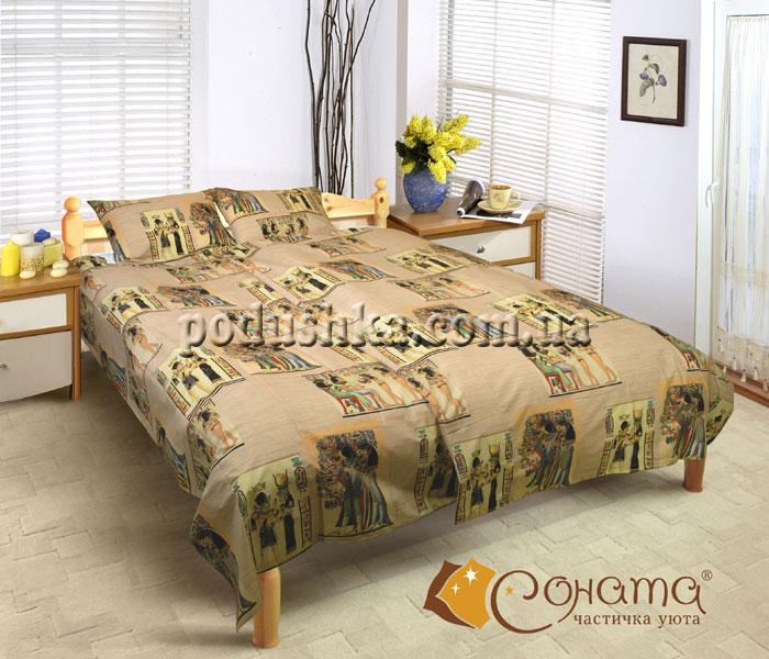 Постельное белье бязь Комплект постельного белья Египет полуторный комплект