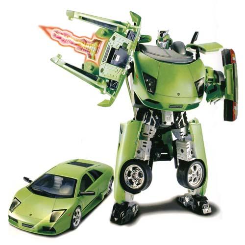 Робот-трансформер ECOBOT - LAMBORGHINI MURCIELAGO (1:18)   Roadbot
