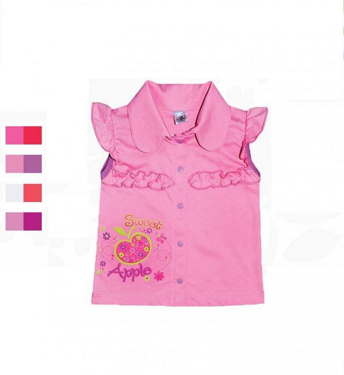 Блуза для девочек Фламинго 581