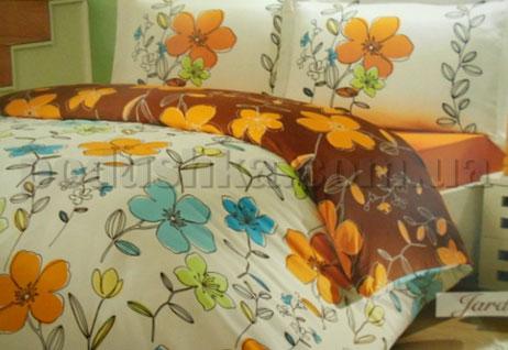 Постельное белье Hobby Jardin коричневый